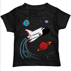 💫Carter's Outer Space Shuttle Graphic T-Shirt 💫